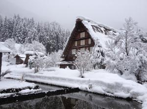 Shirakawago in winter