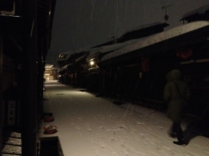 Takayama in the early evening